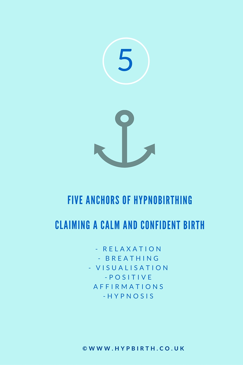 5 anchors of hypnobirthing v2